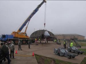 48th EMS aircraft lift training