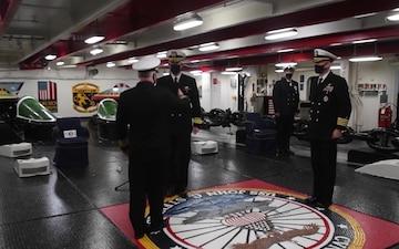 John C. Stennis Change of Command Ceremony All Hands Update