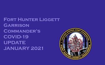 Fort Hunter Liggett COVID-19 Update Jan. 7, 2021