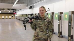 2021 Olympian, SPC Alison Weisz asks What's Your Warrior