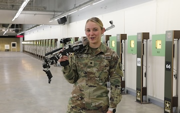 US Army Soldier: I will see you at the Olympic Games