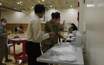 Joint Base MDL Receives COVID-19 Vaccine