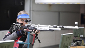 2021 Olympian, SPC Alison Weisz Training video B-Roll