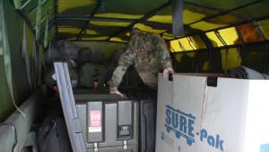 [B-Roll] Loading Supplies, Pennsylvania National Guard deploys to Washington, D.C.