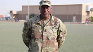 1st Sgt. Stephen Jones Shoutout