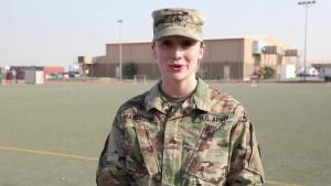 Sgt. Taylor Harrison Ohio St. Shoutout