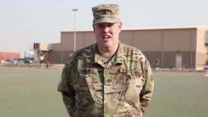 Staff Sgt. Randall Hackney Shoutout
