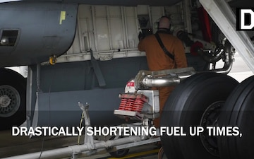 Hot-Pit Refueling at RAF Mildenhall