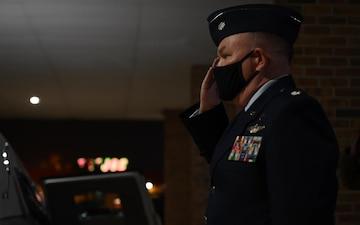 A final salute to a Barksdale chaplain