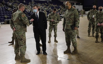 Secretary of the Army Visits DC Armory