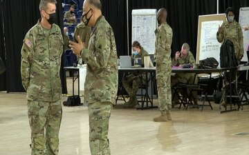 29th Chief of the National Guard Bureau visits D.C. Armory