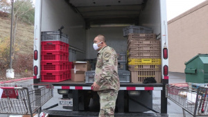 Cal Guard still rolls out food bank missions