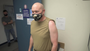 179th Airlift Wing Medical Group Administers COVID-19 Vaccinations (B-Roll)