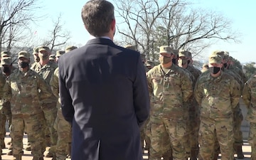 Virginia, DC leaders visit 116th IBCT Soldiers guarding nation's capital