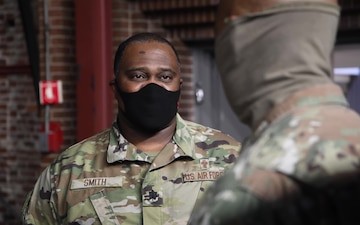 U.S. Air Force Chaplain, Lt. Col. Corwin Smith, has message for our Soldiers and Airmen