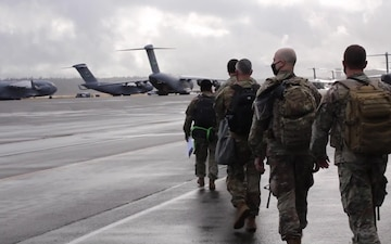 Washington National Guard members head to D.C. to support Presidential Inauguration