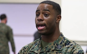 U.S. Navy Hospital Corpsman Marcus Wells Interview about the administering of the COVID-19 Vaccine