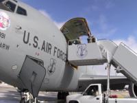 Nebraska National Guard Inauguration Support Mission Departure