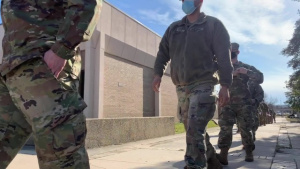 B-Roll: National Guard prepare inauguration support