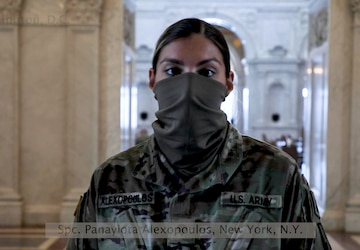 Greetings from Washington, D.C., Army Spc. Panayiota Alexopoulos
