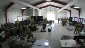 Ohio Homeland Response Force (HRF) Tactical Operations Center Setup (Time-lapse)