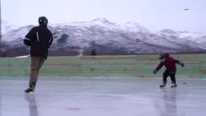 Buckner Ice Rink Opening