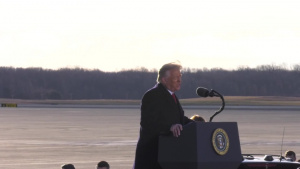 President Trump's Departure Ceremony