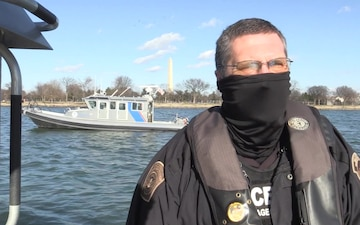 Interview - Andrew Dubnicka - CBP AMO Security Support for the 59th Presidential Inauguration