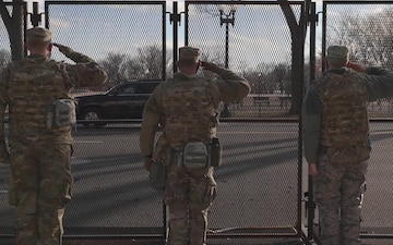 Minnesota Guardsmen provide support to 59th Presidential Inauguration
