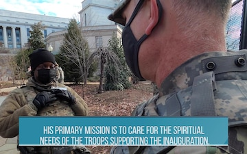 Ohio Army National Guard chaplain provides inauguration support
