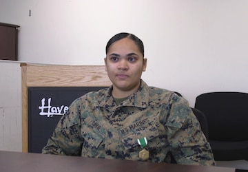 Marine from Bridgeport, Connecticut awarded for saving toddler