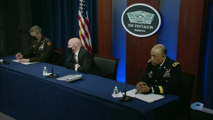 Top Army and National Guard Leaders Hold Briefing