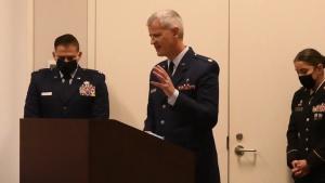 Camp Mabry Rising Star Pins on Major General