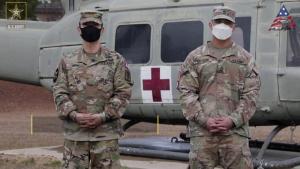 2021 Command Sgt. Maj. Jack L. Clark, Jr. U.S. Army Best Medic Competition (Competitors)
