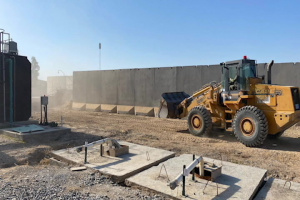 Task Force Iron Castle's 996th Engineer Construction Company Supports Operation Freedom's Sentinel