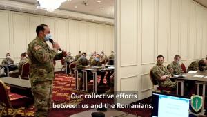 NATO corps build trust in Black Sea region during academic's week