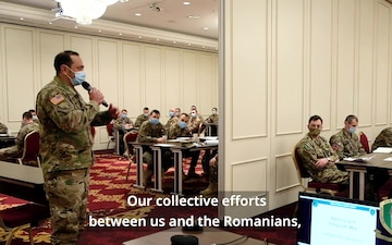 NATO corps build trust in Black Sea region during academic's week
