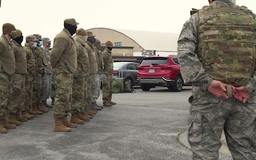 Delaware Air National Guard Volunteers support the 59th Presidential Inauguration