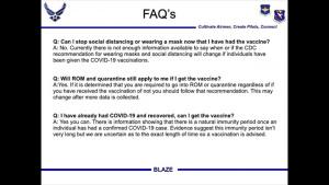 14th MDG COVID-19 vaccine info