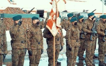 Transfer of Authority Ceremony for NATO Enhanced Forward Presence Battle Group Poland