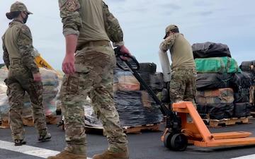 Coast Guard, Navy offload more than $211 million worth of cocaine, marijuana in San Diego B-Roll