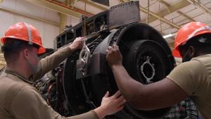 A-10 Engine Backshop