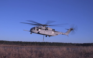 """Hail to the King: CH-53K """"King Stallion"""" tests its first heavy-lifting capabilities"""
