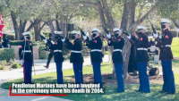Marines participate in Reagan wreath laying ceremony