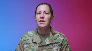 Lt. Gen. Jody Daniels speaks out against extremism