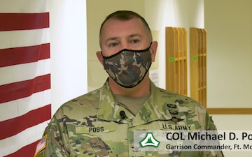 Covid-19 Vaccinations at Fort McCoy