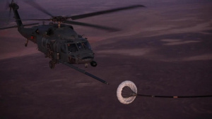 UH-60 Mid-Air Refuel