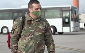 86 AW completes first NPC-Lite patient movement B-roll
