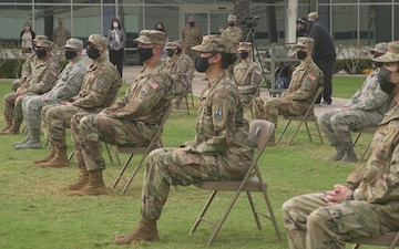 SMC Airmen turned Guardians in afternoon transfer ceremony