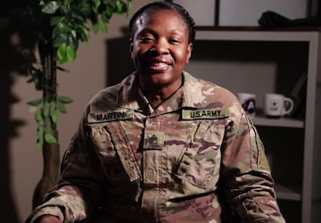 Black History Month Features Ep. 1 with Master Sgt. Kimberlyn Martin